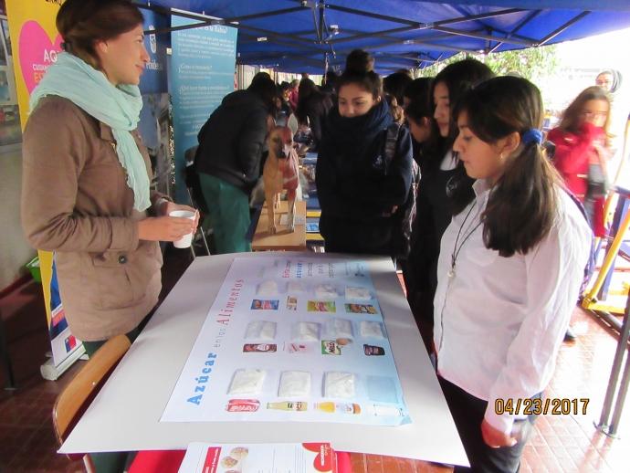 Feria de Salud Escolar fue desarrollada en el Liceo 7