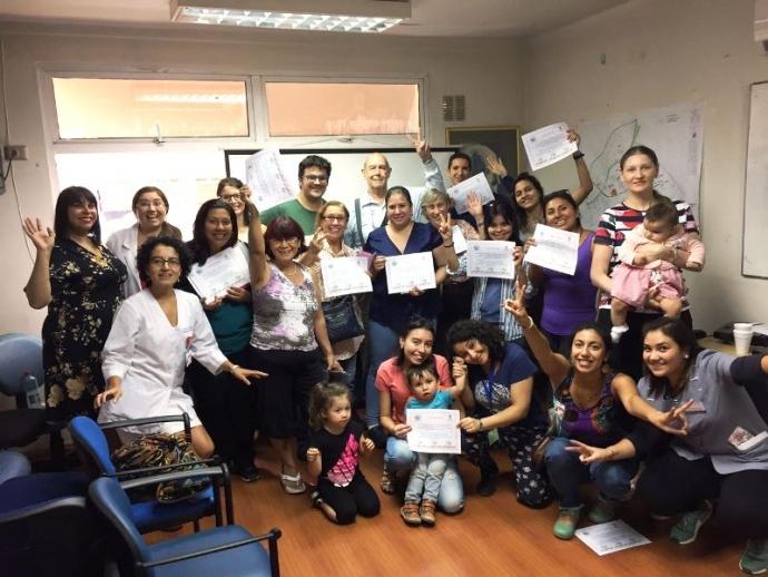 Realizan 1er taller sociolaboral para usuarios de salud extranjeros