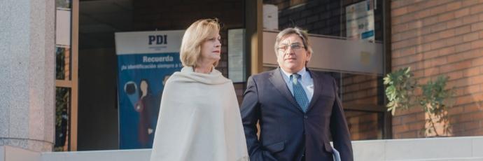 Alcaldesa Evelyn Matthei aporta antecedentes a la PDI por la malversación de fondos en la CDS
