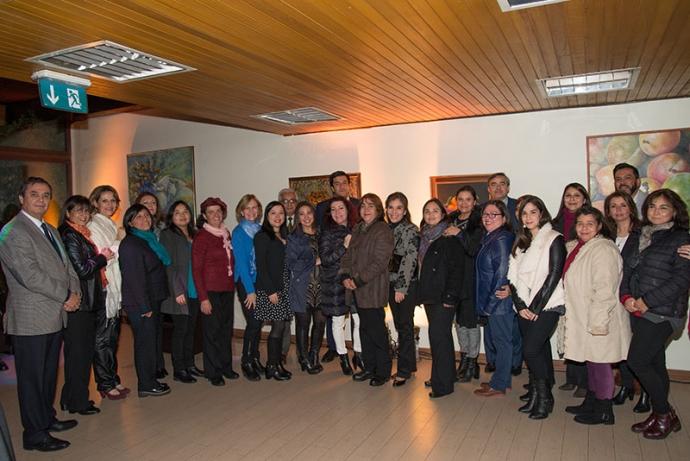 Alcaldesa ofreció recepción a profesores destacados de Providencia
