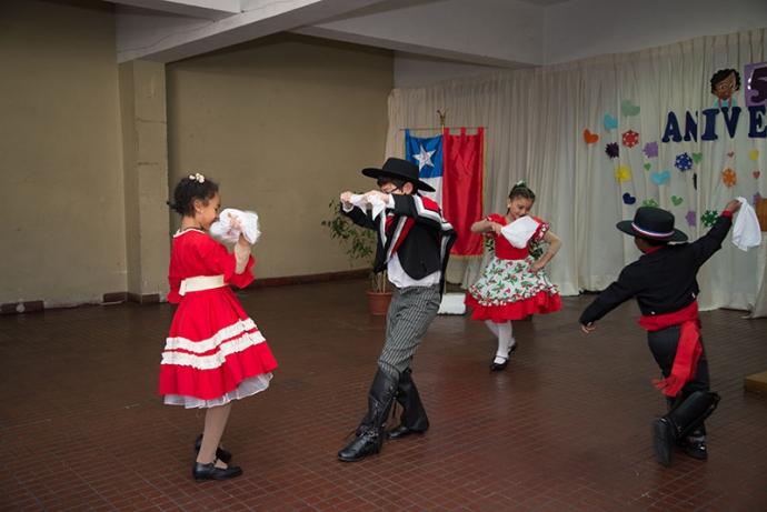 Colegio Juan Pablo Duarte celebró su aniversario número 53
