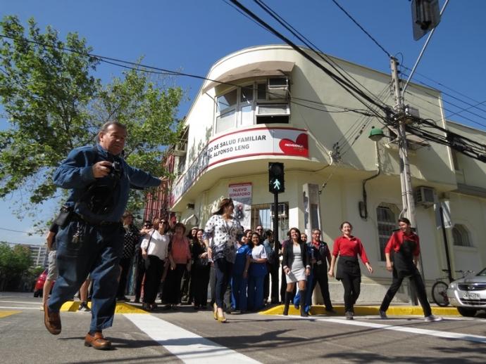 """Comunidad """"dio luz verde"""" a nuevo semáforo frente a centro de salud"""