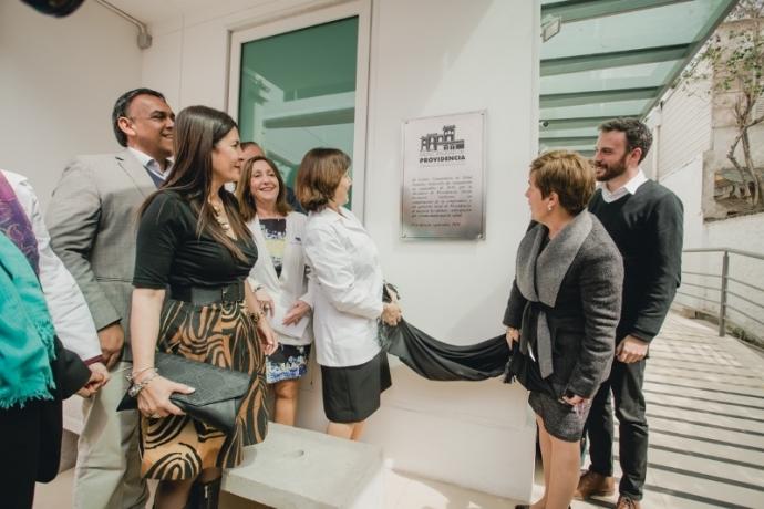 Providencia inaugura nuevo Centro Comunitario de Salud Familiar Andacollo