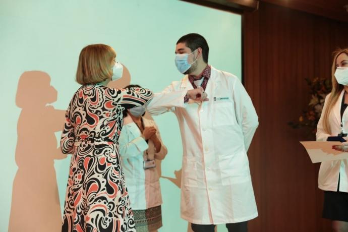 En una emotiva ceremonia, Dirección de Salud premió a funcionarios por su labor en la pandemia
