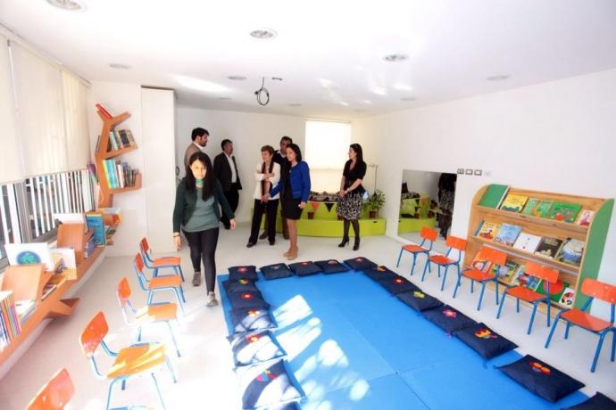 Escuela de Párvulos Madre Bernarda Morín inauguró nuevas salas